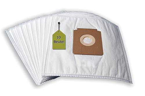 eVendix Staubsaugerbeutel passend für Dirt Devil M 7003   10 Staubbeutel + 1 Mikro-Filter   kompatibel mit Swirl Y104