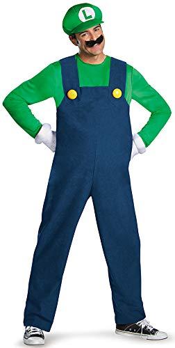 Generique - Kostüm Luigi für Erwachsene hochwertig -