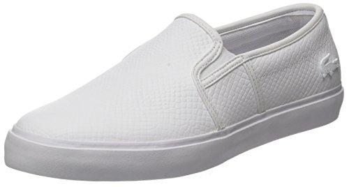 Lacoste Gazon, Sneaker Donna Bianco (Wht)