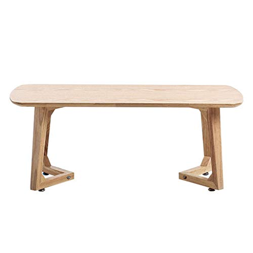 Massivholz Tatami Table Home Kleine Couchtisch Rechteckige Niedrige Tabelle Kinder Studie Tisch Schlafzimmer Bett Computer (Color : Wood Color, Size : 70 * 40 * 35CM)