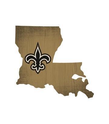 NFL Holz 30,5cm State Form Design, New Orleans Saints ()