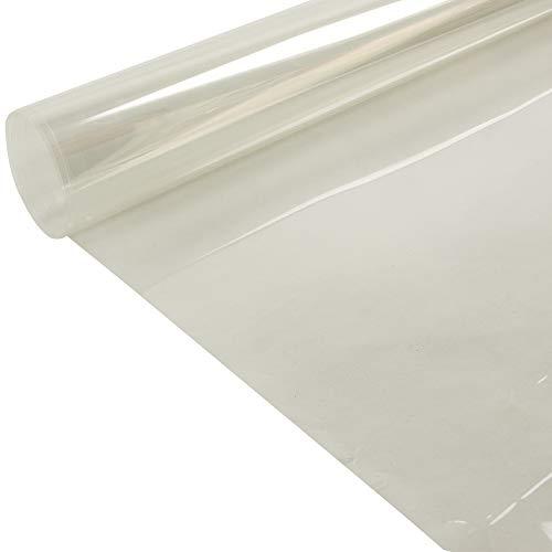 hoho pellicola protettiva trasparente 2mil, lucida, adesiva, protezione antigraffio per mobili, anti-olio, per casa, cucina, decorazione (152 x 50 cm)