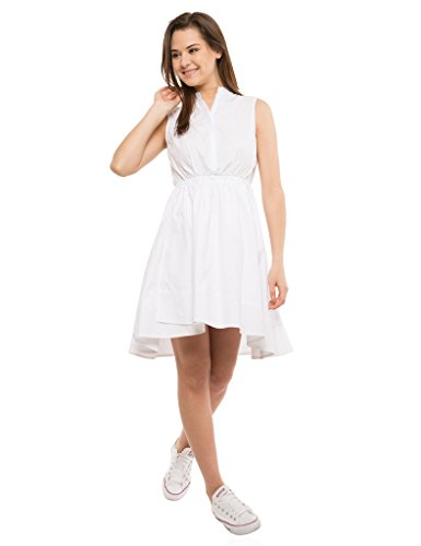 Tokyo Talkies Western White Dress