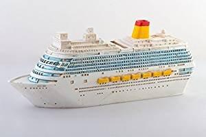 wunderschöne große Reisekasse,Spardose,Sparbüchse, Boot,Kreuzfahrtschiff,Traumschiff aus Polyresin
