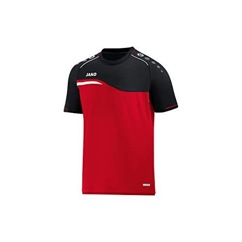 JAKO Herren T-Shirt Competition 2.0, rot/schwarz, XXL