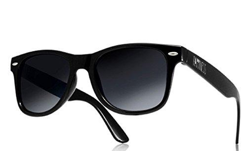 Nuovi Occhiali da sole (Unisex) o Specchio Shades protezione UV400 multicolore happines