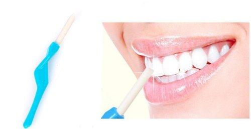 Nettoyez les dents dent gomme, blanchiment des dents
