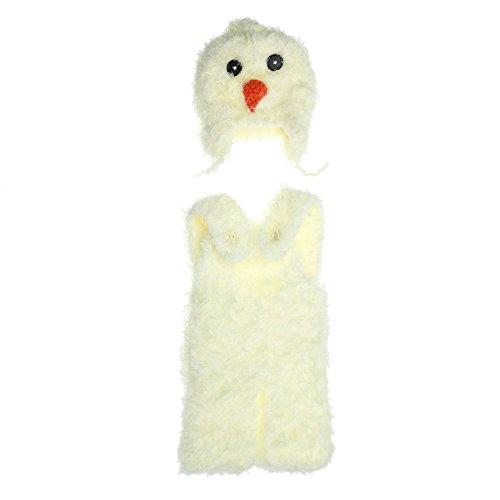 Domybest Kinder neugeborenes Kind europäischen Huhn Fotografie Pullover Anzug (3-4M)