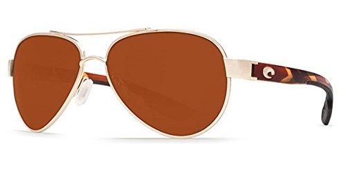 Costa Loreto Metal Frame Copper Lens Unisex Sunglasses LR64OCP