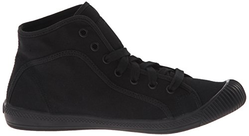 Palladium FLEX LACE MID, Sneaker alta donna Nero (Schwarz (BLACK/MRSHMLLW 030))