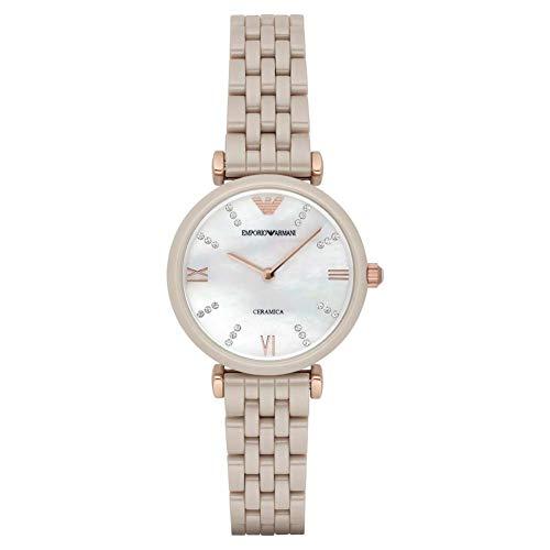 Emporio Armani AR1498 Reloj de Pulsera para Mujer