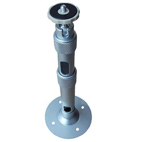 Qucking Light Orojector-Ständer, Projektor-Deckenhalterung, 360 ° drehbare Universalhalterung Einstellbare Tragfähigkeit von 5 kg für eine einfache Projektionseinstellung