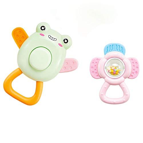 Tianya Beißringspielzeug für Babyrassel Set erste Rasseln für Baby Geschenkset für Baby von 0 bis 12 ()