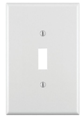 Leviton 001–88101-w Single Gang White Single Toggle Wanddose