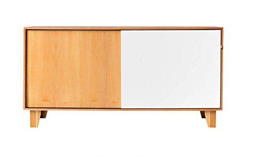 Buffet Commode en Bois avec 2 Portes coulissantes par Le Design Moderne