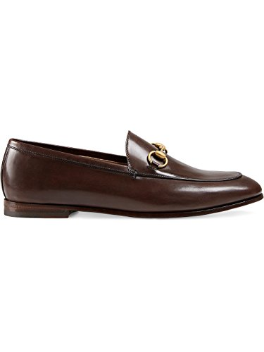 Gucci-Womens-404069BLM002024-Brown-Leather-Loafers