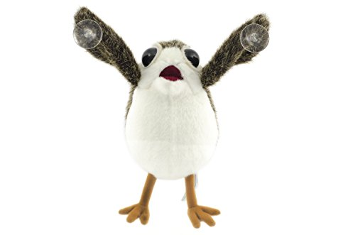 Star Wars Porg on Board Plush with Suction Cup