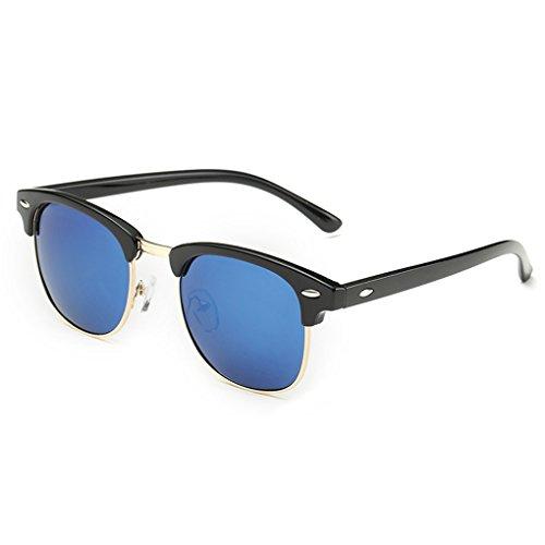 QHGstore Protección UV Hombres Mujeres Deportes Gafas de sol polariza