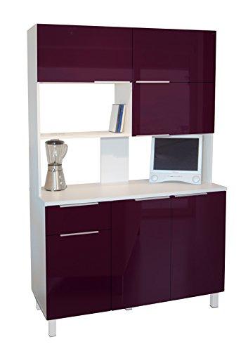 berlioz-creations-cb120a-buffet-de-cuisine-avec-6-portes-1-tiroir-aubergine-haute-brillance-120-x-46