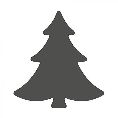 Vaessen Creative Motivstanzer Tannenbaum, Medium, Motivlocher aus Metall und Plastik, Ausgestanztes Motiv 21,1 x 22,3 mm, zum Basteln mit Papier