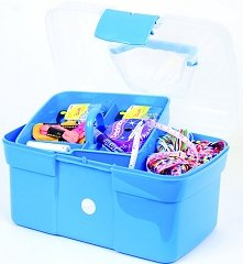 Craft Factory A2077 | Blue Plastic Sewing Storage Caddy 275