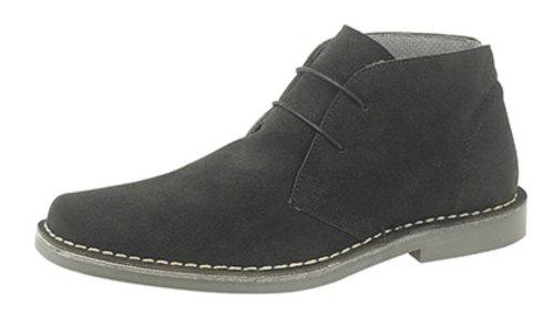 Uomini Genuino Roamers Boots Occhio Camoscio 2 Nero Desert zqCvIdvw