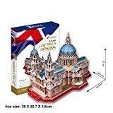 zantec CubicFun 3D Puzzle 'St. Paul 's Cathedral–London'