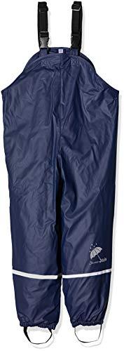 Sterntaler Jungen Regenhose Regenträgerhose gefüttert, Blau (Marine 300), 122