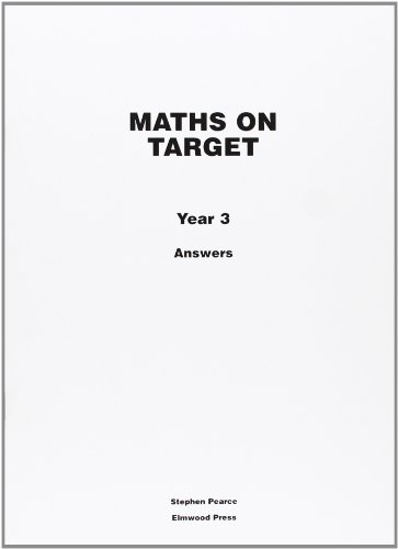 Maths on Target Year 3 Answers: Answers Year 3