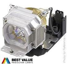Lámpara de proyector Alda PQ LMP-E190 para SONY VPL-BW5, VPL-ES5, VPL-EW15, VPL-EW5, VPL-EX5, VPL-EX50 Proyectores, módulo de la lámpara con la caja