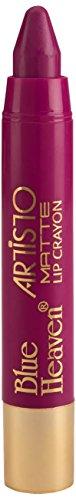Blue Heaven Artisto Velvet Matte Lip Crayon, Fuchsia Pink, 3.2g