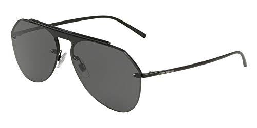 Ray-Ban Herren 0DG2213 Sonnenbrille, Schwarz (Matte Black), 45