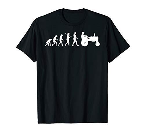 Landwirtschaft Traktor Evolution Tshirt