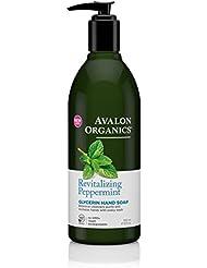 Avalon Savon liquide - A base de menthe poivrée bio pour purifier et revitaliser - 360 ml