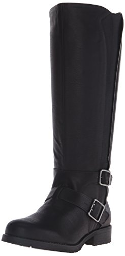 kenneth-cole-reactio-jenny-stride-women-us-8-black-knee-high-boot