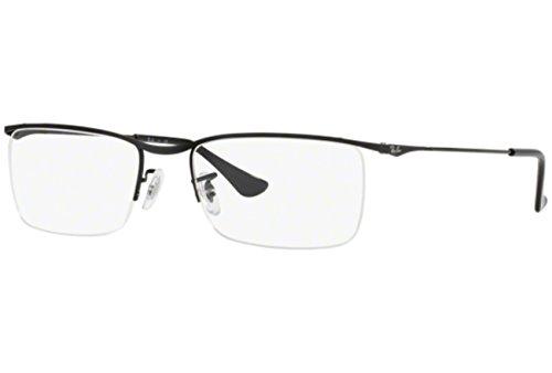 Ray-Ban Optical RX6370 C55 Shiny Black