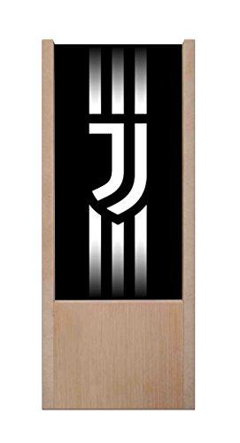 Lampada da tavolo in legno Juve - logo