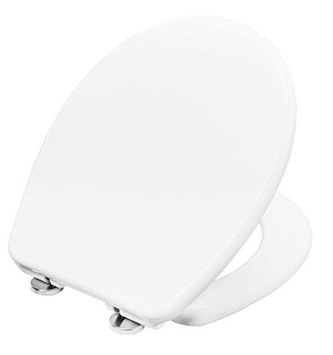 Cornat WC-Sitz TICINO weiß/Toilettensitz/Toilettendeckel/Klodeckel/WC-Deckel/Absenkautomatik/Duroplast/KSTISC00
