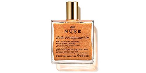 Nuxe Huile sec éclairant nourrissante visage corps cheveux huile prodigieuse or 50 ml