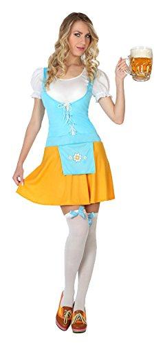 ATOSA 4992 Karnevalskostüm, Mehrfarbig, M (Kostüm Allemande)