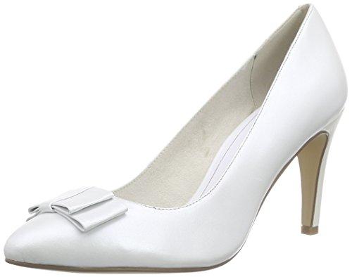 Tamaris 22463, Damen Pumps, Weiß (White 100), 39 EU (6 Damen UK)