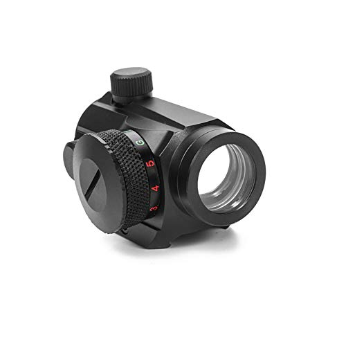 YODZ 1XRD20 Rot/Grüner Punkt-Sichtbereich Taktisches holographisches Bild mit Riser Mount-Gewehr Jagd Picatinny-Schienenmontage 20mm