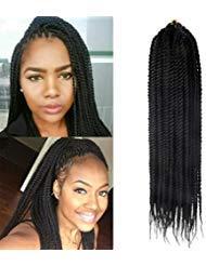 Senegalese Twist Crochet Zöpfe Haarverlängerungen 6 Packs Synthetische Flechten Haar Kleine Havana Mambo 2 X Twist Zöpfe Hochtemperaturfaser haar 30Ständer / Pack -