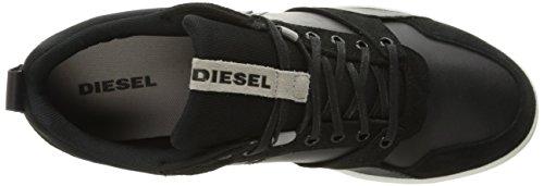 "Diesel Herren ""Happy Hours S-Tage-Sneaker Hohe Schwarz (H1247 Black)"