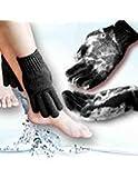 Home Spa HEAVY Exfoliating gloves Hydro full body wash to cleanse scrub glove