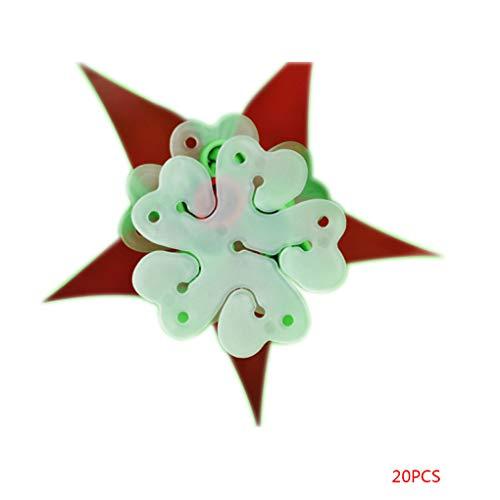 fish 20Pcs Birthday Home Party Decor Festival Wedding Flower Balloon Sealing Resin Clip Decorative Tool