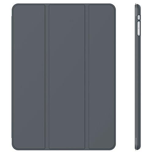 JETech Hülle Kompatibel Apple iPad mini 1 2 3, Schutzhülle mit Ständer Funktion und Auto Einschlafen/Aufwachen, Dunkel Grau