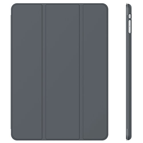 JETech Hülle für iPad Mini 3 iPad Mini 2 iPad Mini, Schutzhülle mit Ständer Funktion und Auto Einschlafen/Aufwachen, Dunkel Grau (Cover Ipad 3 Mini)