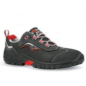 U-Power - S1- Zapato de seguridad de ante con ventilación lateral Beige Size: 43 EU hFCl82