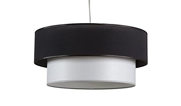 Maison Lampe de Plafond Lune 42278 texture Blanc//Noir